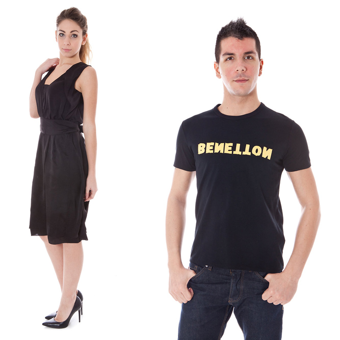 Benetton clothing men and women