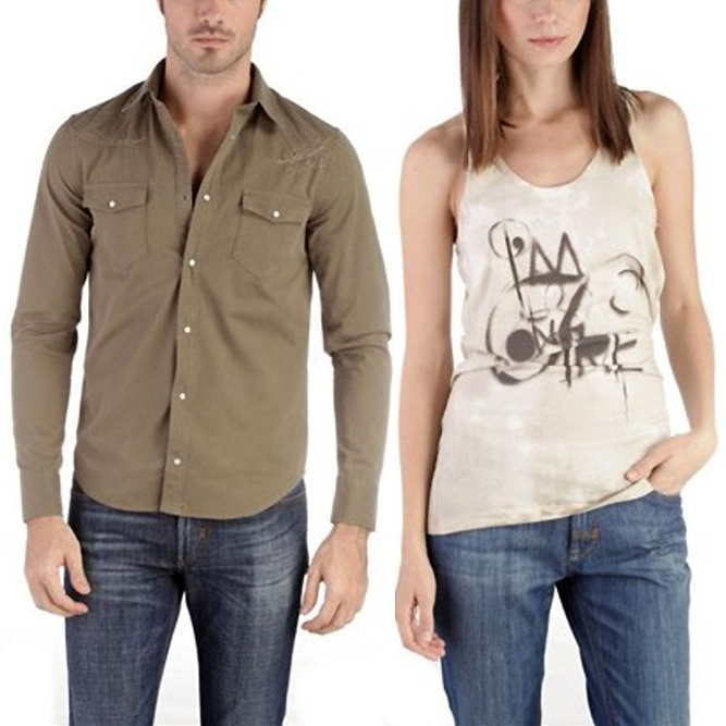 Diesel clothing men and women