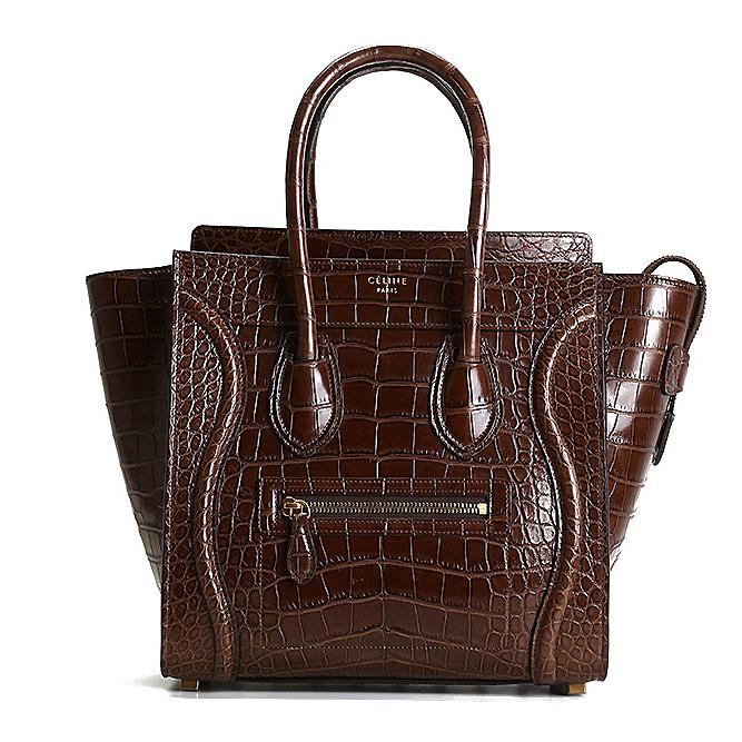 Celine women bags crocodile leather
