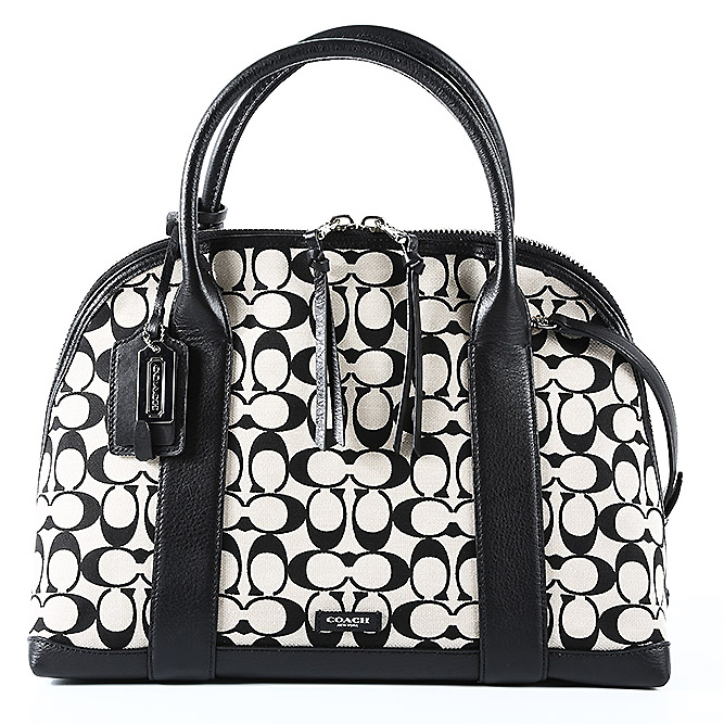 Coach women bags black and white