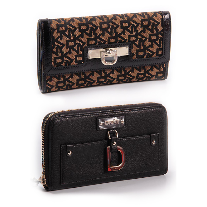 DKNY women wallets