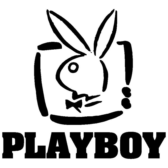 Logo Playboy clothes, bikinis and accessories women and men