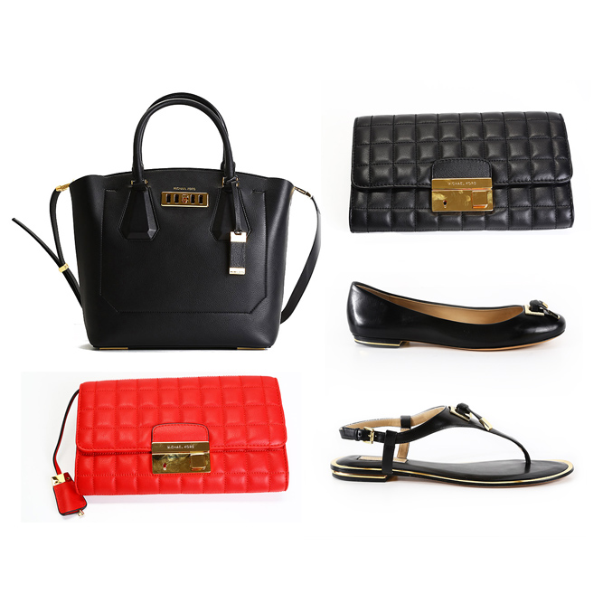 Michael Kors bags, wallets and shoes