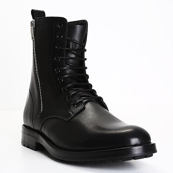 Saint Laurent men heavy-duty boots