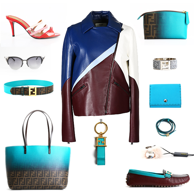 Fendi bags, shoes, accessories and clothes