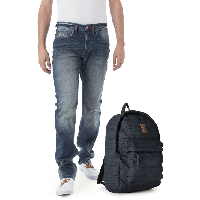 Kangol Men Jeans and Backpacks