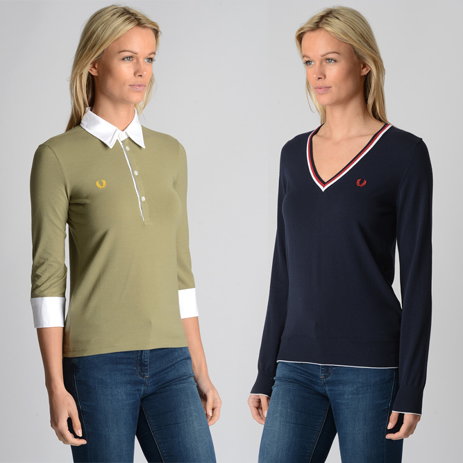 Fred Perry sweaters and cardigans