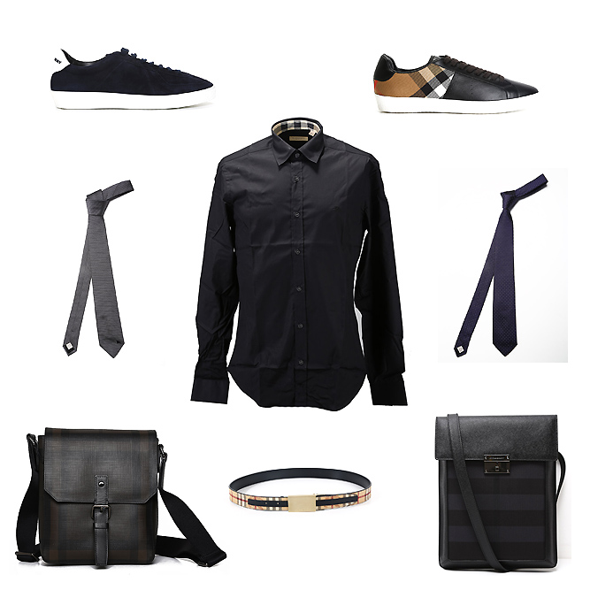 Burberry accessories, bags, clothes and shoes