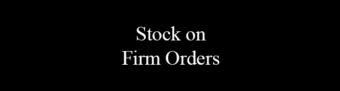 Stock on Firm Orders