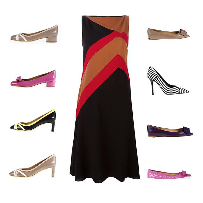 Salvatore Ferragamo Woman clothes and shoes