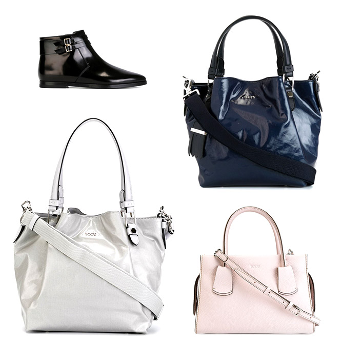 Tod's woman bags and shoes