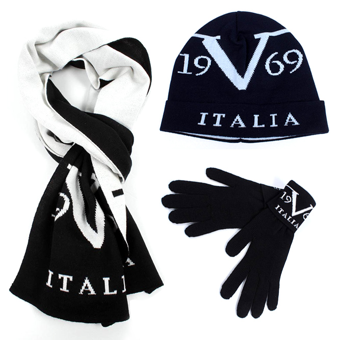 19v69 man gloves, hats and scarves