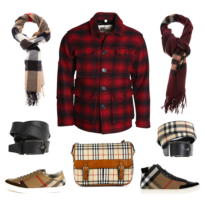 Burberry man accessories, bags, clothes and shoes