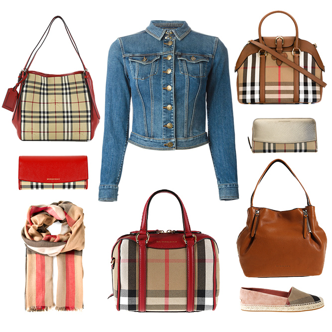 Burberry woman accessories, bags, clothes and shoes