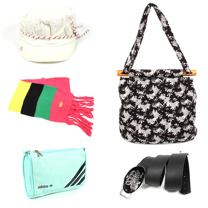 Adidas accessories and bags