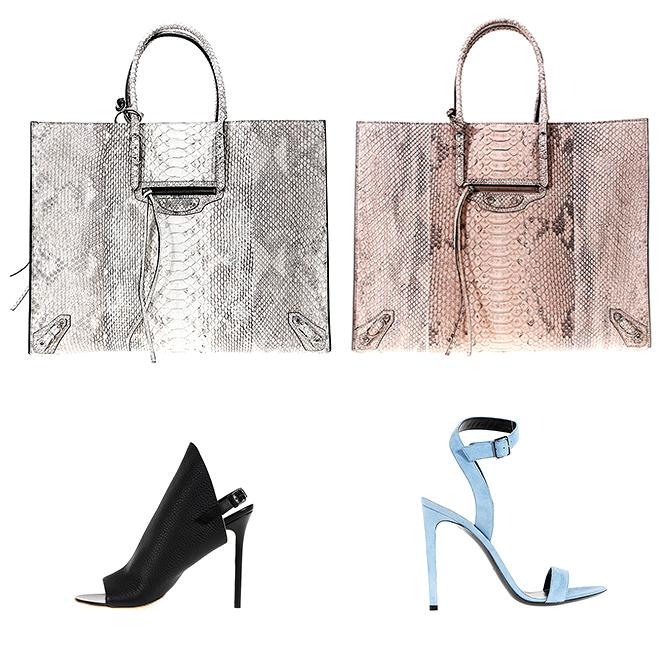 Balenciaga woman bags and shoes