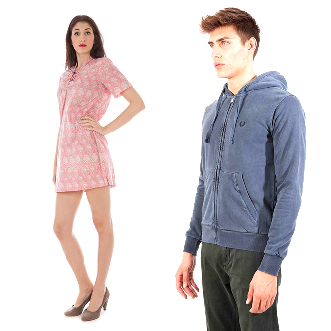Fred Perry woman and man clothes