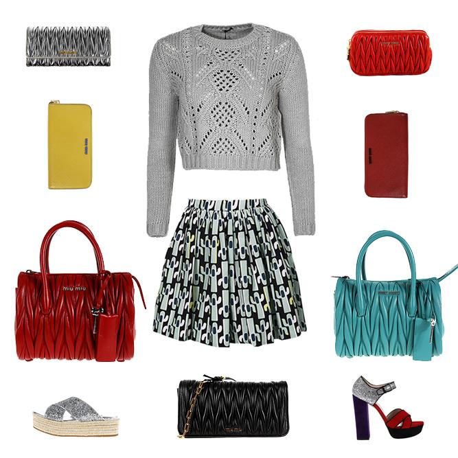 Miu Miu woman accessories, bags, clothes and shoes