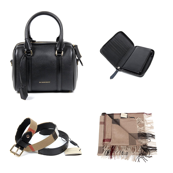 Burberry woman accessories and bags