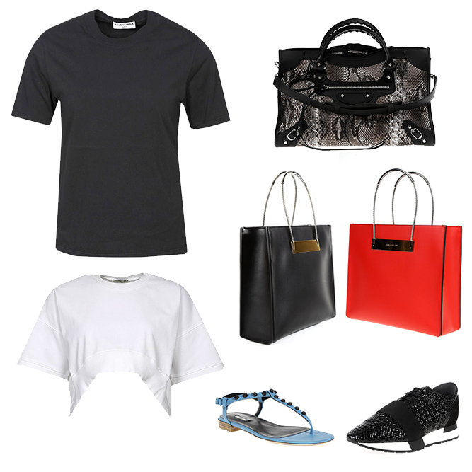 Balenciaga woman bags, clothes and shoes