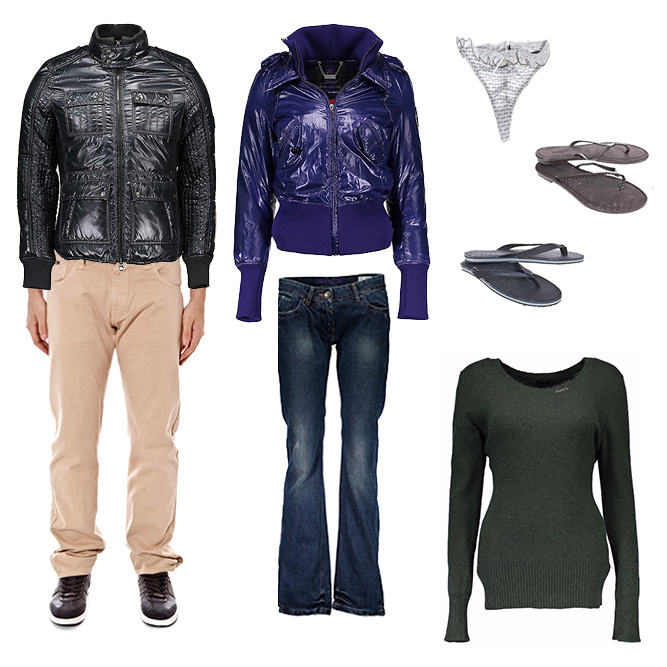 Datch. Wholesale stock of on consignment branded clothing, underwears, beachwears and shoes