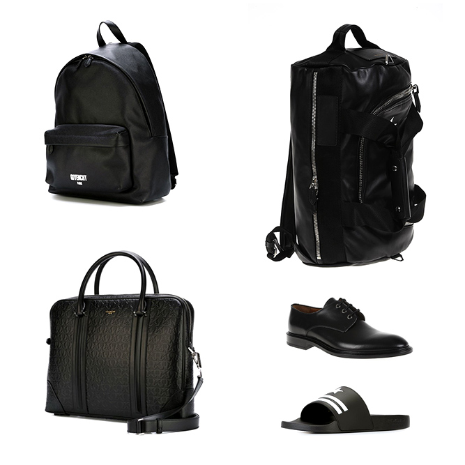 Givenchy man accessories, bags and shoes