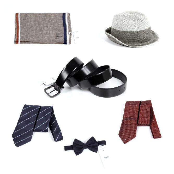armani man accessories