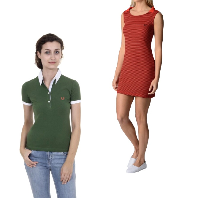 Fred Perry woman clothes
