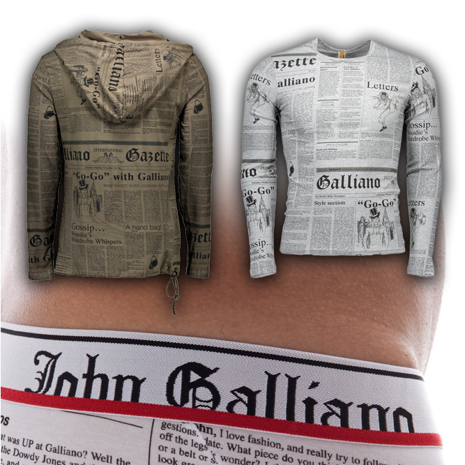 John Galliano - Stock for E-Commerce