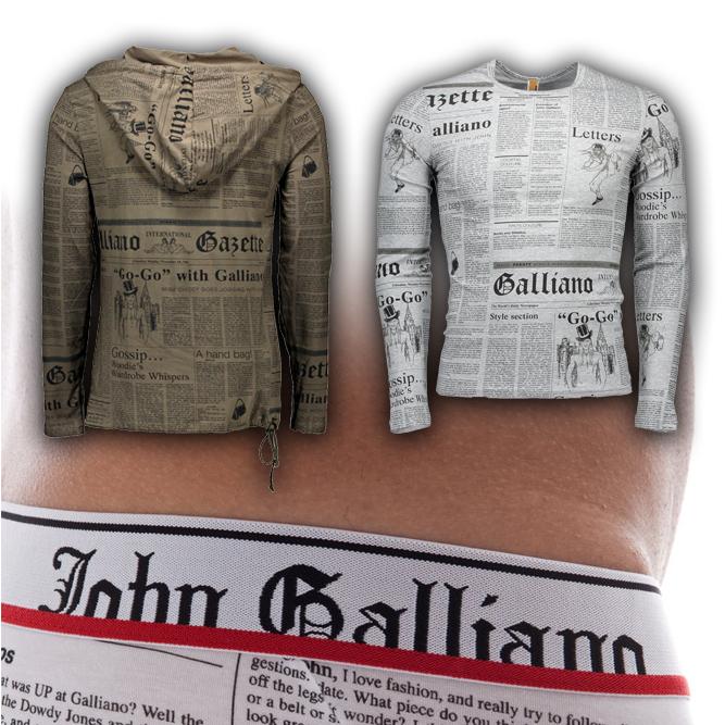John Galliano - Stock for E-Commerce