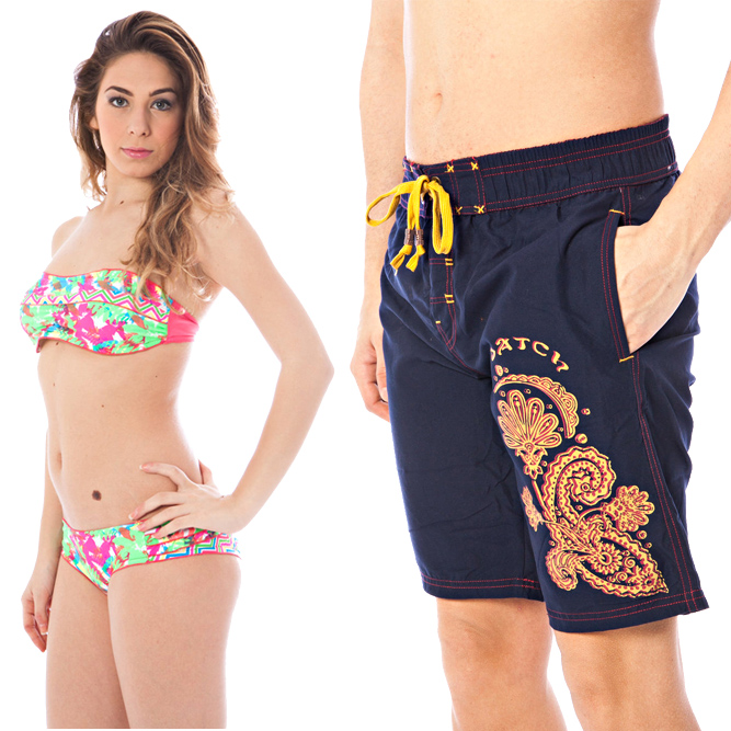 vestiti Datch, beachwear e underwear