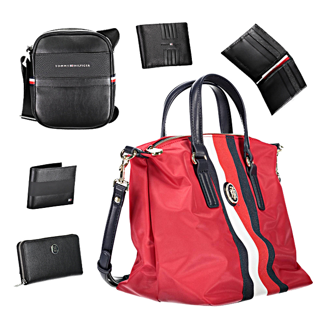 Tommy Hilfiger accessories and bags