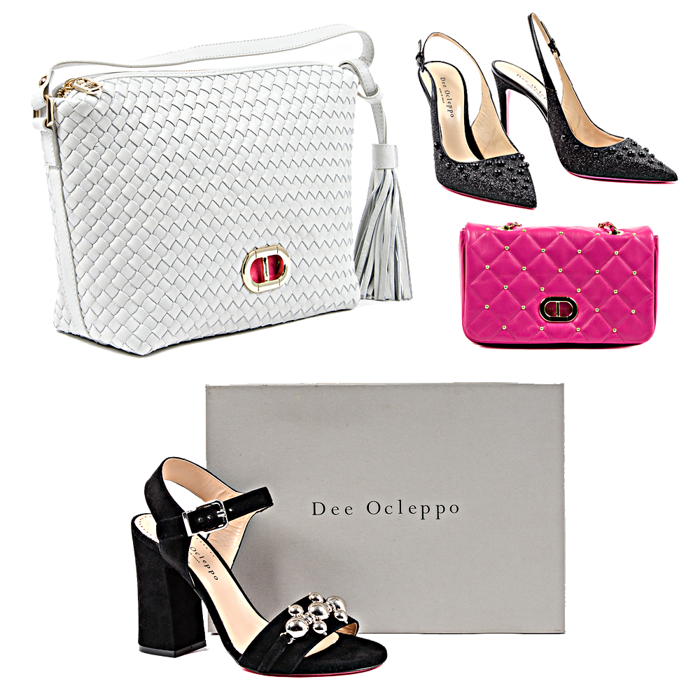 Dee Ocleppo accessories, bags and shoes