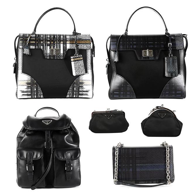 プラダ女性のバッグ