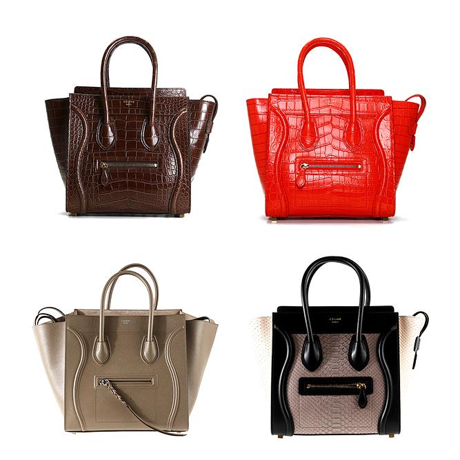 Les sacs pour dames Céline