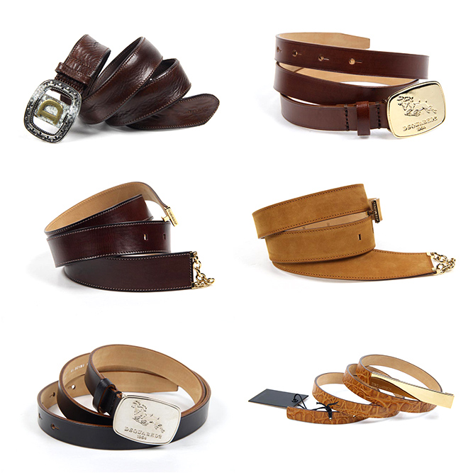 Dsquared2 woman belts