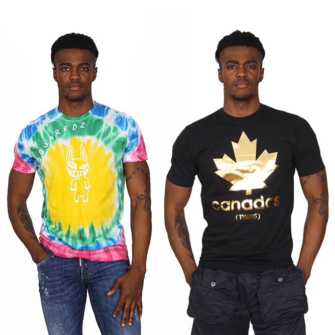 Dsquared2 man t-shirts
