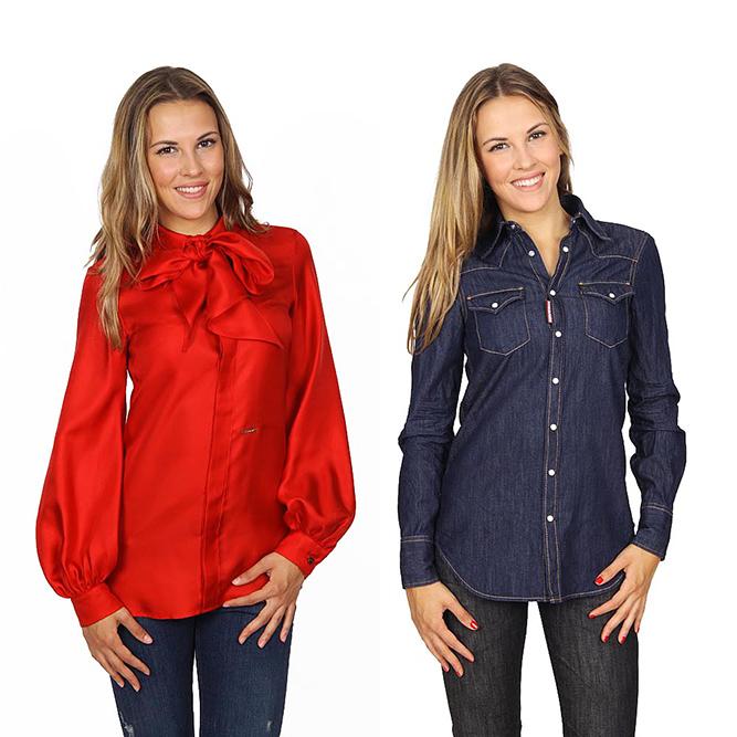 Dsquared2 woman shirts