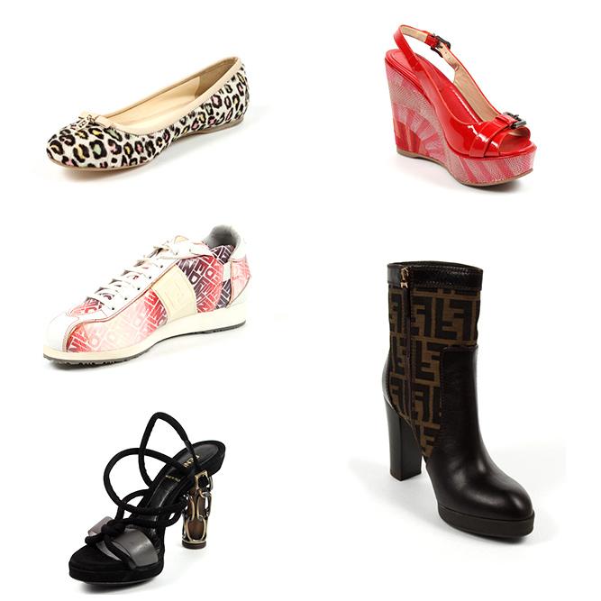 Fendi woman shoes