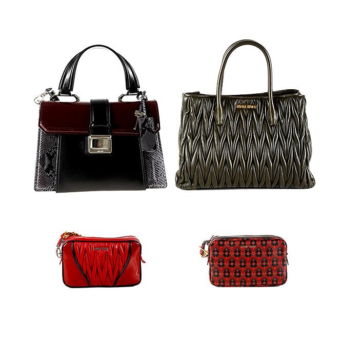 ミュウミュウ女性のバッグ
