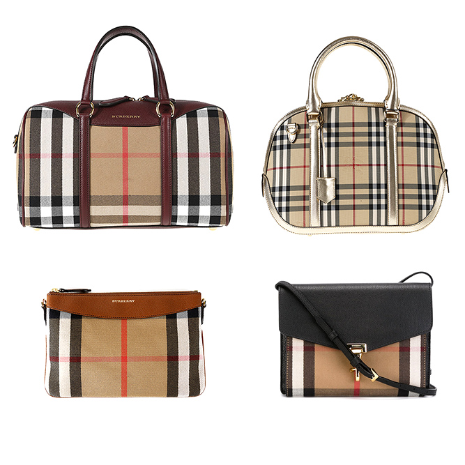 Burberry woman bags